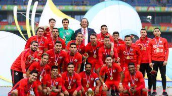 [FOTOS] Así fue la premiación de la selección chilena campeona de la China Cup