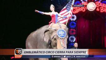 [VIDEO] El cierre del circo más emblemático de Estados Unidos