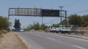 Lo Barnechea: Debutan pórticos que detectan autos robados