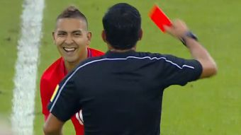 [VIDEO] La expulsión de Jeisson Vargas que dejó a Chile Sub 20 con 10 ante Brasil