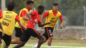 [FOTOS] La Roja Sub 20 se prepara para enfrentar a Ecuador en el Sudamericano