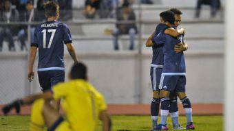 [VIDEO] La goleada de Argentina sobre Bolivia en el Sudamericano Sub 20