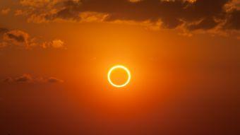 Inusual eclipse solar podrá ser visto en los cielos de Chile