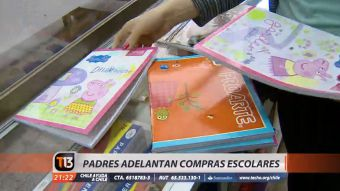 [VIDEO] Padres ya adelantan compras de útiles escolares