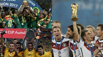 El frente a frente de Chile con sus rivales en el Grupo B de la Copa Confederaciones