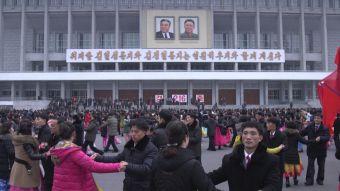 [VIDEO] Corea del Norte celebra ajena de las polémicas por la muerte del hermano de Kim Jong Un