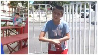 [VIDEO] Las declaraciones de Adriano, el niño que protagonizó el primer viral del Festival