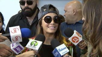 [VIDEO] Lali Espósito ya está en Viña 2017