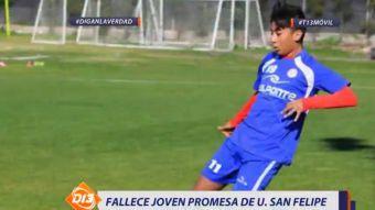 [VIDEO] El adiós de la joven promesa de Unión San Felipe