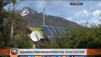 Volcán Lanín lleva una semana en alerta amarilla: autoridades preparan evacuación