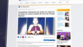 [VIDEO] La intérprete de señas se robó el show de Viña