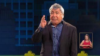 [VIDEO] Jaja Calderón sobrevivió sobre el escenario Viña