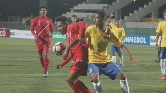 [VIDEO] La victoria de Brasil sobre Perú en el Grupo B del Sudamericano Sub 17