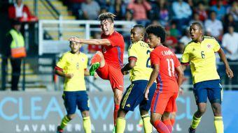 [VIDEO] Mira los goles y la atajada del arquero de Chile en el empate ante Colombia en el Sub 17