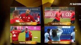 [VIDEO] Arturo Vidal nominado en dos categorías a premios Oscar del Bayern Munich