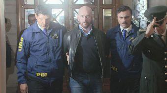 Garay llega a tribunales