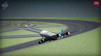 [VIDEO] Así funcionarían las pistas de aterrizaje circulares
