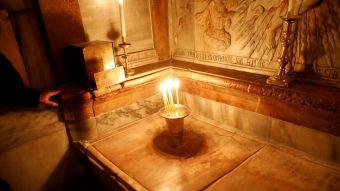 [FOTOS] Restauran la tumba de Jesús en Jerusalén