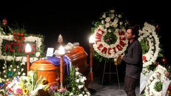 La mañana de este martes se realizó el último adiós al actor Edgardo Bruna