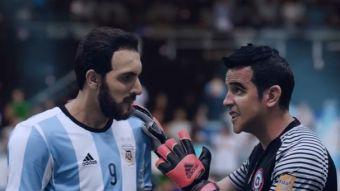 [VIDEO] Kramer adelanta el Argentina-Chile con divertida historia de Higuaín y Claudio Bravo
