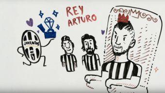[VIDEO] La carrera de Arturo Vidal en cuatro minutos de caricaturas