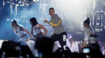 [FOTOS] La presentación de Justin Bieber en el Estadio Nacional