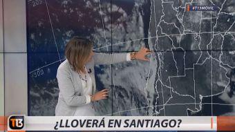 [VIDEO] ¿Lloverá en Santiago? Michelle Adam explica cómo viene el tiempo en la zona central