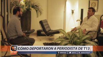 [VIDEO] Así fue la deportación de periodista chileno en Venezuela