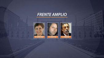 [VIDEO] Frente Amplio prepara primarias presidenciales con tres opciones