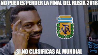 [FOTOS] Los mejores memes de la derrota de Argentina frente a Bolivia
