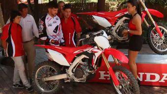 [VIDEO] Para los amantes de la velocidad te presentamos la nueva moto Honda CRF 450R