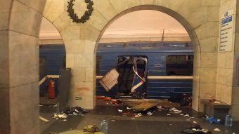 [FOTOS] Explosión y caos en el metro de San Petersburgo