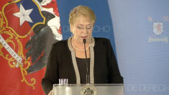 [VIDEO] Bachelet llama a parlamentarios a aprobar la Reforma Universitaria