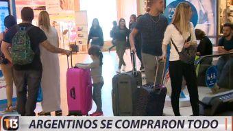[VIDEO] Fin de semana largo: Argentinos se compraron todo