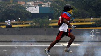[FOTOS]  Oposición venezolana protesta en las calles por segundo día consecutivo