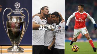[VIDEO] DLVenlaWeb: Sorteo de Champions, chilenos por el mundo y el Clausura