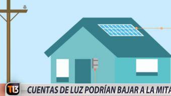 [VIDEO] Cuentas de luz un 50% más bajas