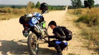 [VIDEO] La increíble historia de la chilena que recorre el mundo con su moto