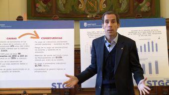 Alessandri denuncia millonario déficit de fondos en municipio de Santiago