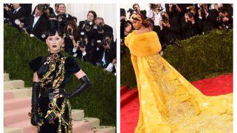 Katy Perry y Rihanna han marcado las galas del MET