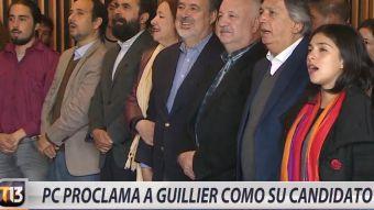 [VIDEO] Partido Comunista proclama a Guillier