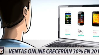 [VIDEO] Ventas por internet crecen en Chile