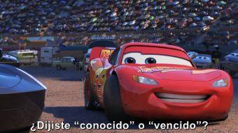 [VIDEO] Un renovado Rayo McQueen sorprende en el último tráiler de Cars 3