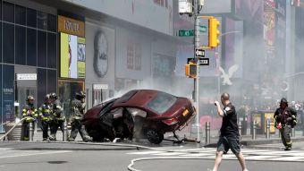 Atropello múltiple en Times Square