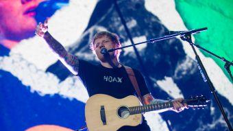 El detalle chileno de Ed Sheeran en los Billboard Music Awards 2017