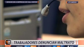 [VIDEO] Trabajadores de call center denuncian abusos y condiciones inhumanas