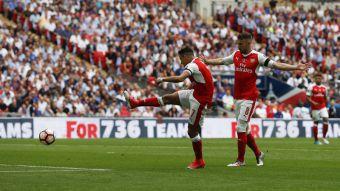 [VIDEO] El gol con que Alexis abrió el marcador ante Chelsea en final de la Copa FA