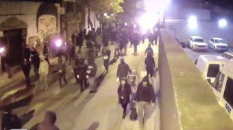 [VIDEO] Encapuchados atacan cuartel PDI