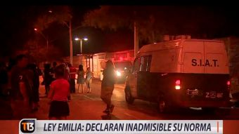 [VIDEO] Ley Emilia: Declaran inadmisible su norma