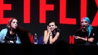 Millie Bobby Brown participó este fin de semana en la Comic Con Chile